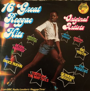 V/A - Reggae Time: 16 Great Reggae Hits (LP) (G/G-)